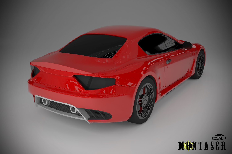 3D Maserati model