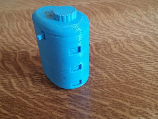 3D Mechanical Counter model