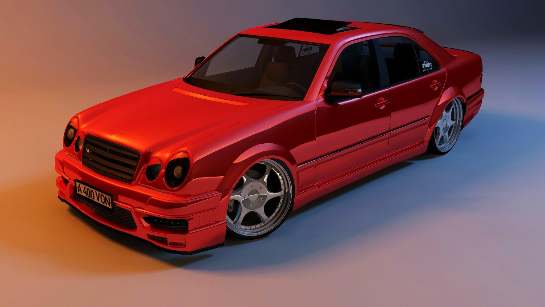 Mercedes-Benz E55 Kleemann 3D model