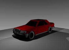Mercedes Benz W124 Coupe 3D model