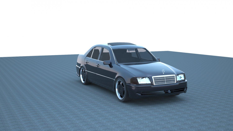 Mercedes Benz W202 3D model