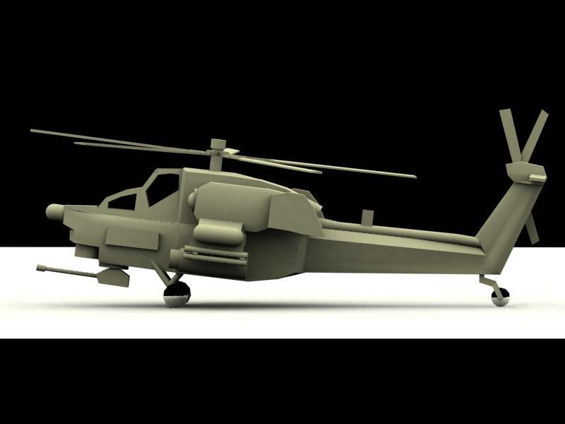Mil Mi28 3D model