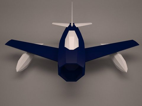 Military Aircraft 3D model