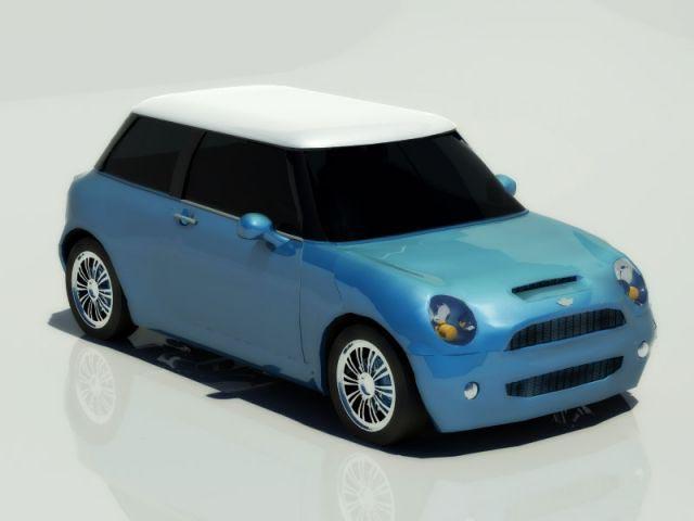 Mini Cooper S 2001 3D model