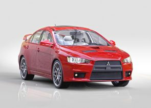 Mitsubishi Evolution X 3D model