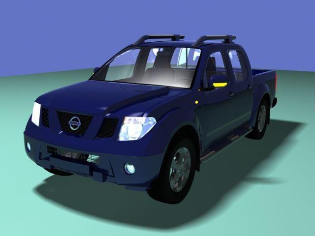 Nissan NAVARA 3D model