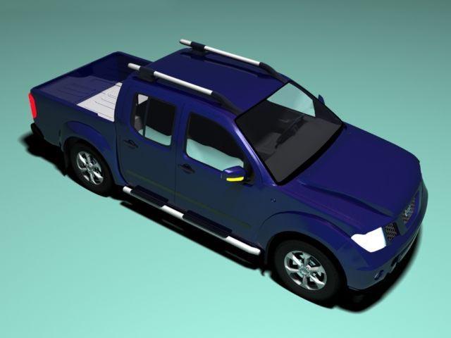 3D Nissan NAVARA model