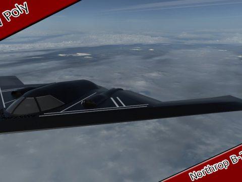 Northrop B-2 Spirit 3D model