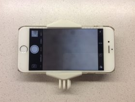 Phone GoPro clamp / head mount 3D model