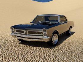 Pontiac GTO 1965 3D model