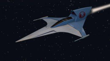 Rebel Phantom Fighter 3D model