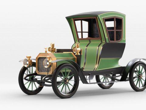 Rochet Schneider 1909 3D model
