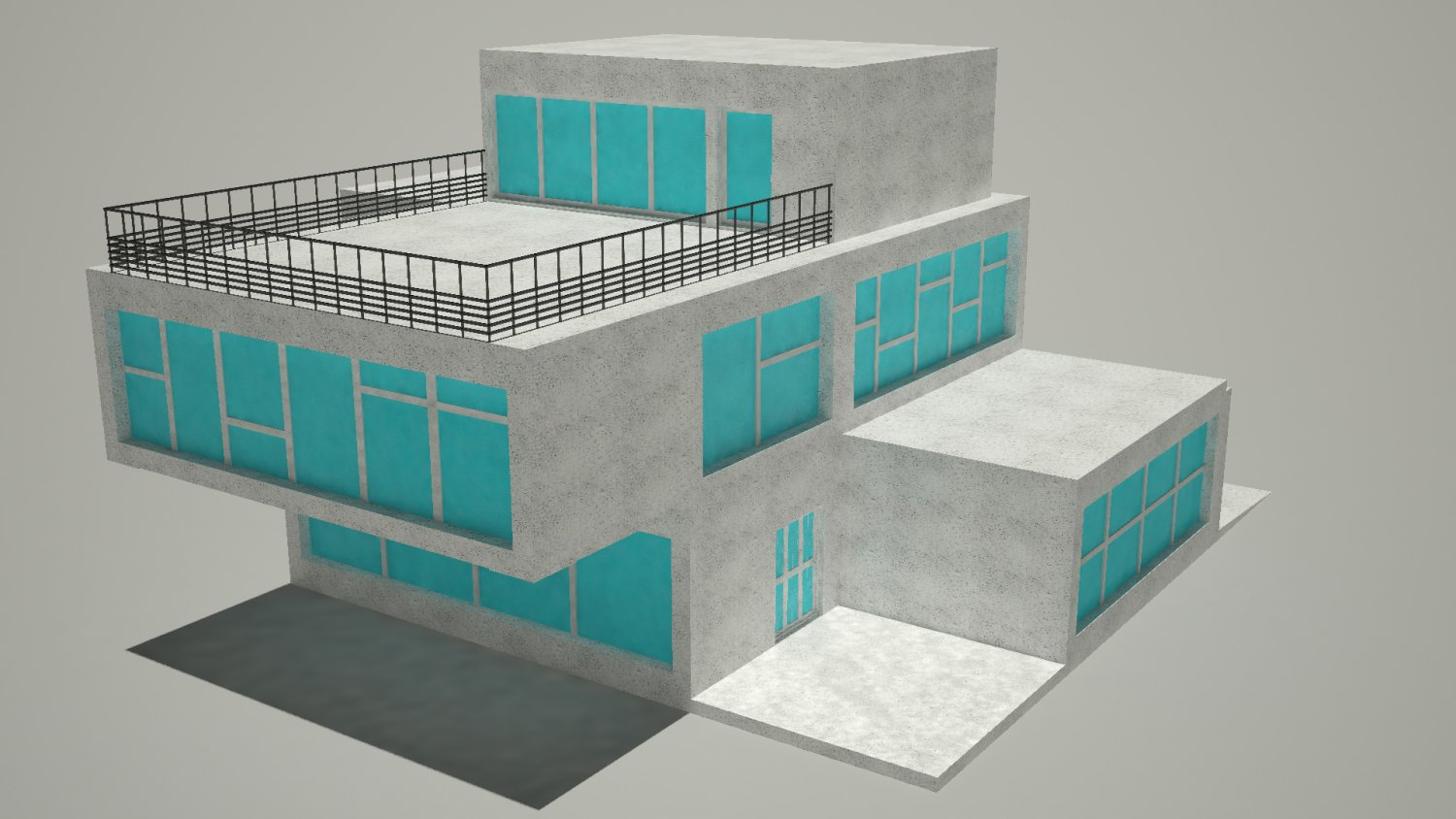 House for Decoration 3ds max
