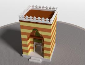 3D Skver model