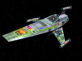 Star Wars T-Wing Starfighter 3D model
