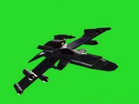Star-fighter 3D model