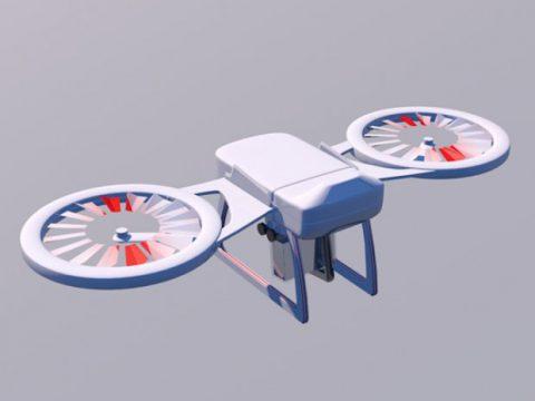 Super Drone 3D model