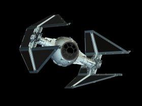 TIE Interceptor 3D model