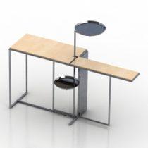 Table rivoli ClassiCon 3d model