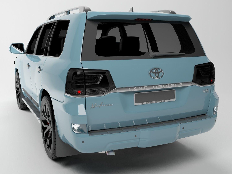 Toyota Land Cruiser Free 3d Models