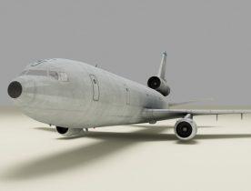 Transport airplane