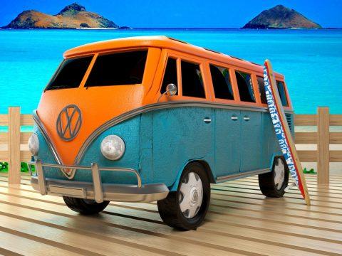 3D VW Bus model