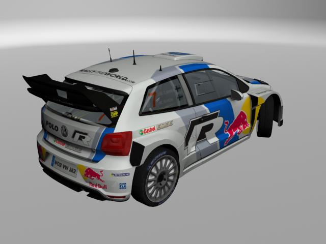 VW Polo 13 WRC