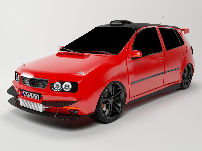 Volkswagen Polo 1995 3D model