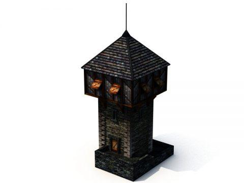 3D Watchtower model