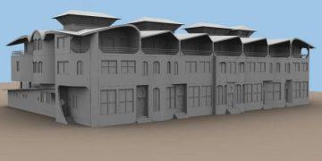 7 sister villa 3D model