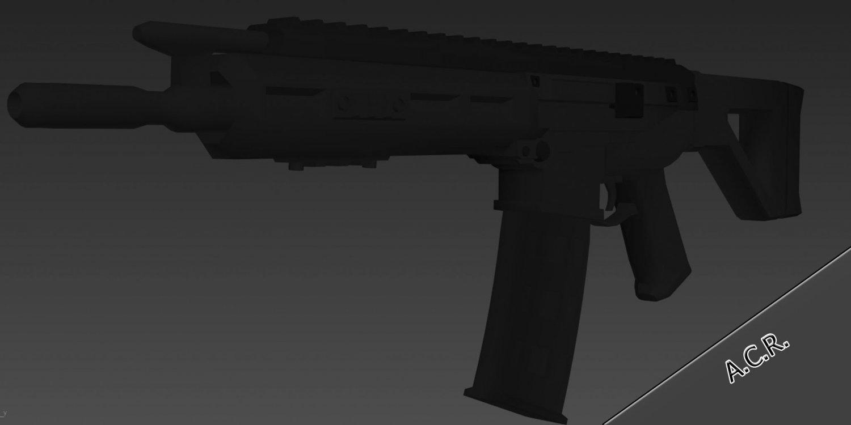 ACR 3D model