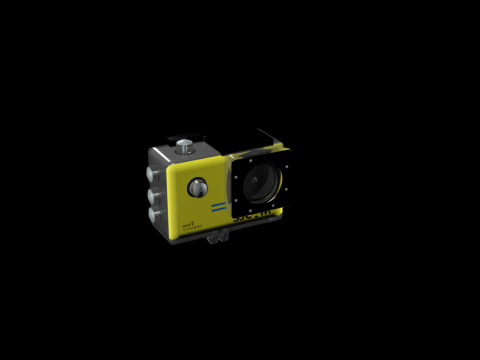 Action Camera SJCAM sj 5000 wifi 3D model