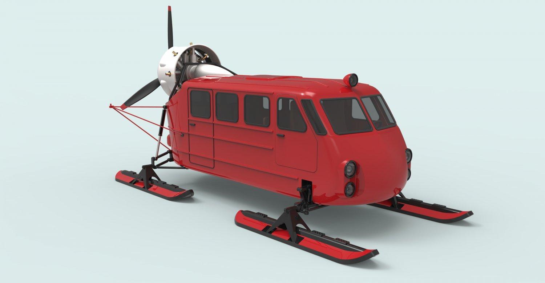 Aerosleds Ka-30 3D model