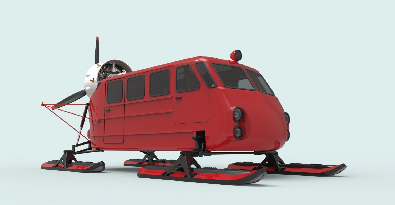 3D Aerosleds Ka-30 model