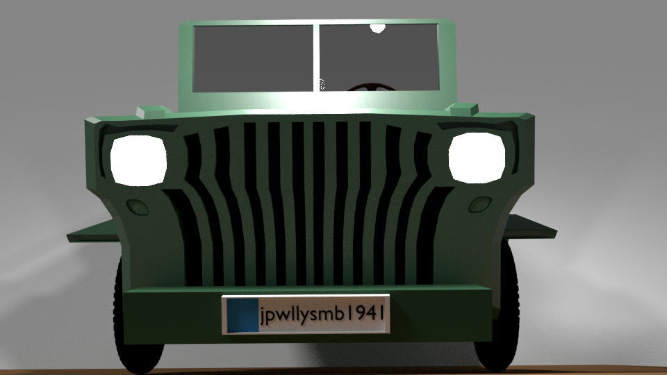 American Willys Mb 1941 Jeep