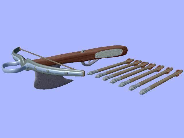 Arbalet 3D model