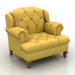 Armchair Mr Smith 3d model