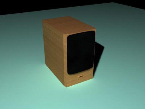 Audio SVEN 3D model