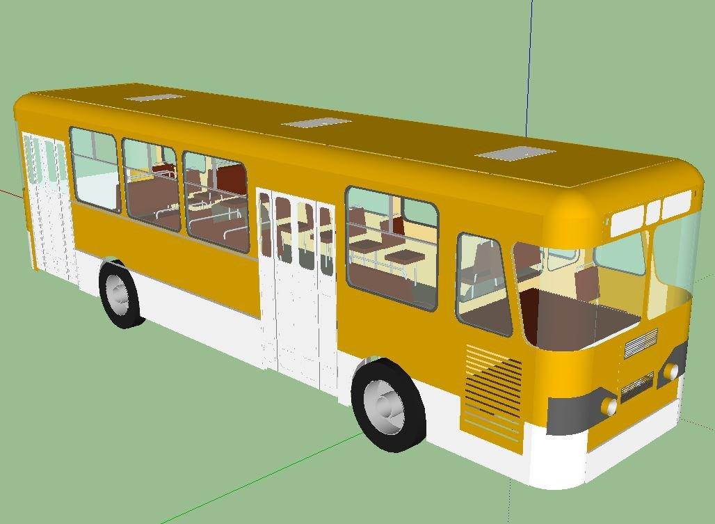 Autobus liaz677 3D model