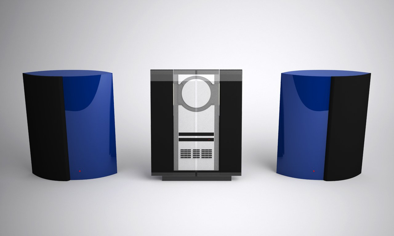 Bang Olufsen Beosound 3000 Free 3d Models