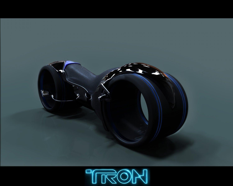 Bike Tron 3D model