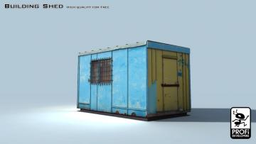 Building Shed 3D model