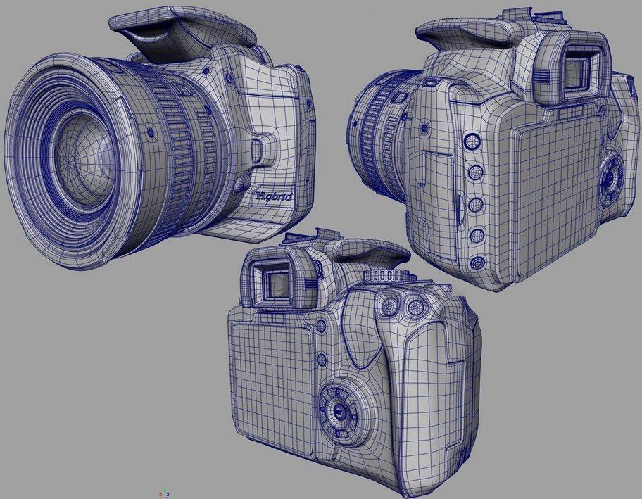 Canon 3D model