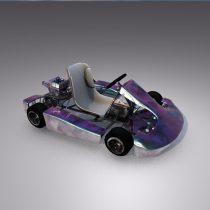 Cart Rigged Realistic 3D model