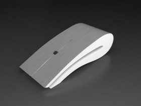Computer Mouse Titanium 3D model