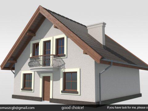 Cyprys House 3D model