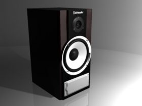 Speaker DEFENRER 3D model