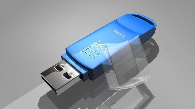 Flash Memory 3D model
