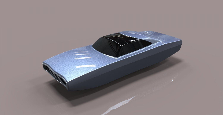 Flying Charger 3D model