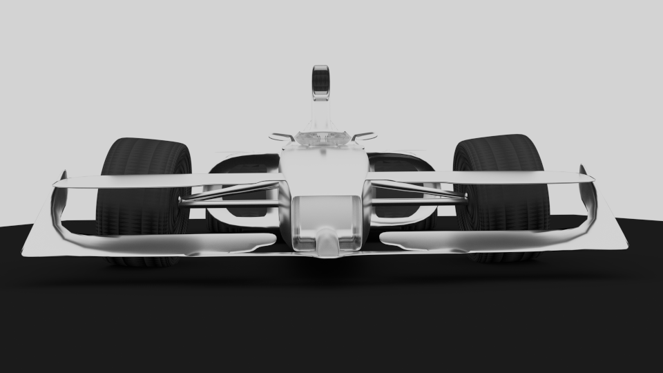Formula F1 3D model